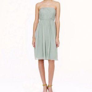 J.Crew Petite Mindy Silk Dress